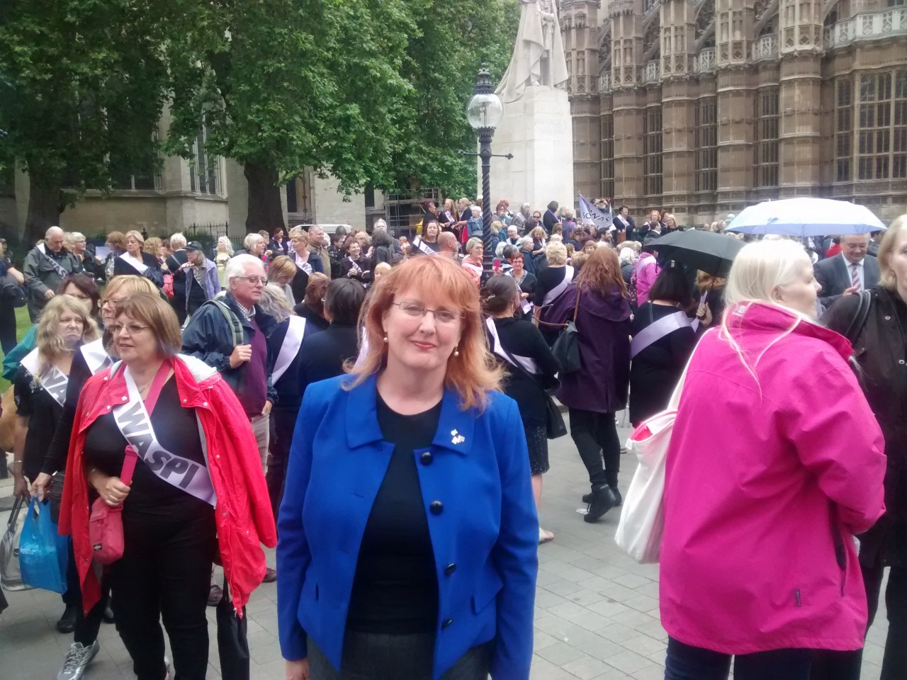 Brock backs WASPI campaign at Westminster